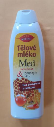 Tělové mléko MED+Koenzym Q10 85,- Kč