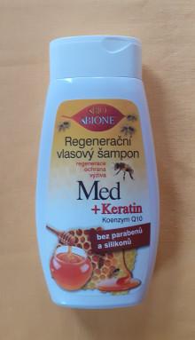 Regenerační vlasový šampon  95,- Kč