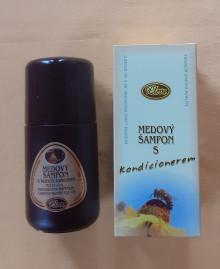 Medový šampon s kondicionerem  AKCE! 68,- Kč
