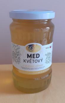 Med květový akátový 500 g 186,- Kč