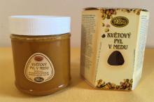 Květový pyl v medu 120,- Kč