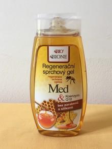 Regenerační sprchový gel Med + koenzym Q10
