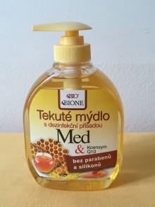 Tekuté mýdlo Med + koenzym Q10