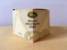 Medový peelingový krém
