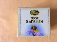 Mast s apisinem (včelím jedem)