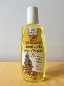Ústní voda med + propolis