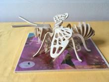 Puzzle 3D včela