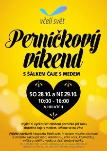 Plakát Perníčkový víkend Včelí svět